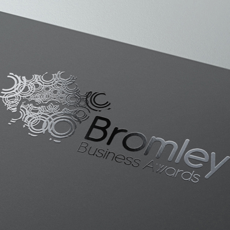 Pic showing SPOT UV treated logo on brochure cover