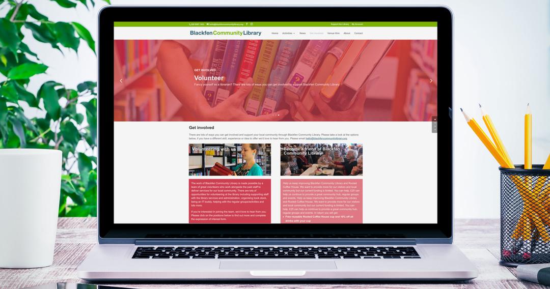 An online hub for a community hub