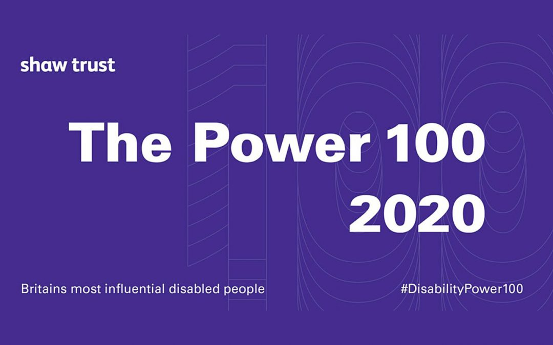 Launch of The Shaw Trust Disability Power 100