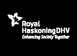 White Royal HaskoningDHV logo