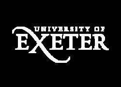 White University of Exeter logo